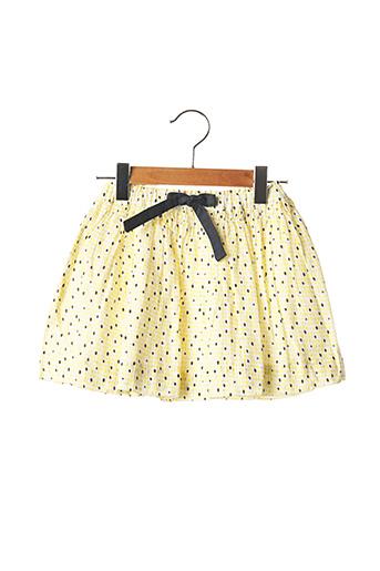 Jupe mi-longue jaune MARESE pour fille
