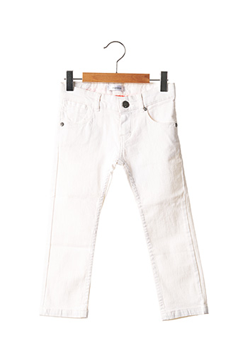 Jeans coupe droite blanc MARESE pour fille