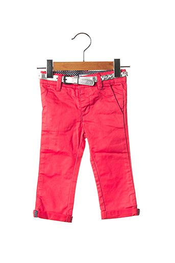 Pantalon casual rouge MARESE pour fille