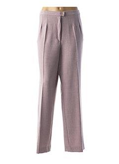 Pantalon casual violet ANNE KELLY pour femme