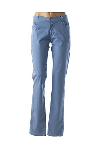 Pantalon casual bleu BISCOTE pour femme