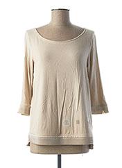 T-shirt manches longues beige ELISA CAVALETTI pour femme seconde vue