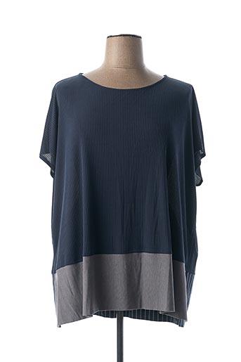 T-shirt manches longues bleu ALEMBIKA pour femme