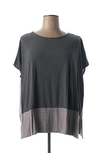 T-shirt manches longues gris ALEMBIKA pour femme