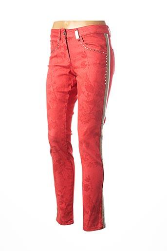 Pantalon casual rouge SPORTALM pour femme