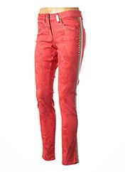 Pantalon casual rouge SPORTALM pour femme seconde vue