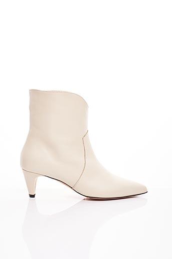 Bottines/Boots blanc MARELLA pour femme