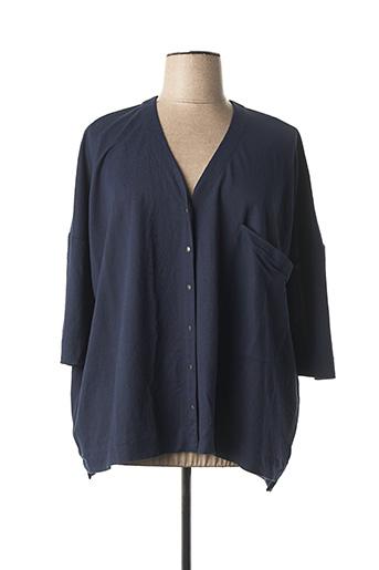 Veste casual bleu ALEMBIKA pour femme