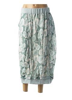 Jupe mi-longue vert GERSHON BRAM pour femme