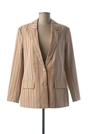 Veste chic / Blazer beige VILA pour femme