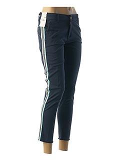Pantalon 7/8 bleu FIVE pour femme