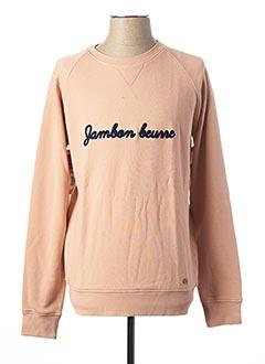 Sweat-shirt rose FAGUO pour homme