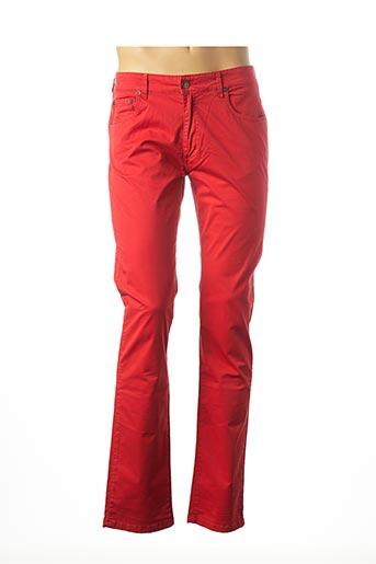 Pantalon casual rouge MCS pour homme