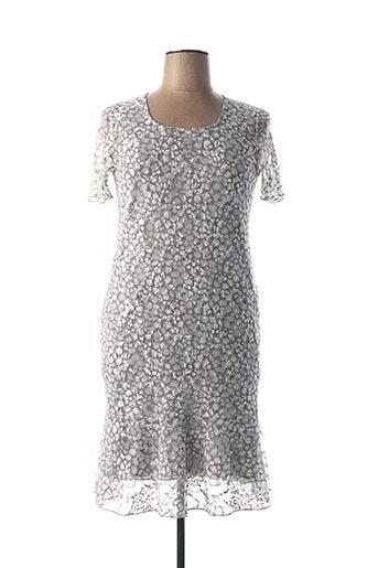 Robe mi-longue gris TELMAIL pour femme
