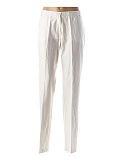 Pantalon chic blanc JEAN GABRIEL pour femme