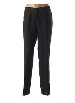 Pantalon chic noir JEAN GABRIEL pour femme