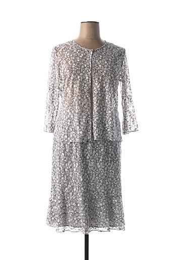 Veste/jupe gris TELMAIL pour femme