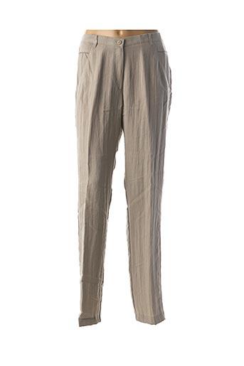 Pantalon chic beige JEAN GABRIEL pour femme
