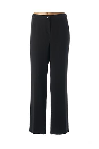 Pantalon chic noir JEAN DELFIN pour femme
