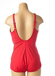 Maillot de bain 1 pièce rouge TRIUMPH pour femme seconde vue