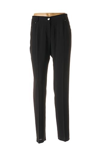 Pantalon chic noir CHRISTINE LAURE pour femme