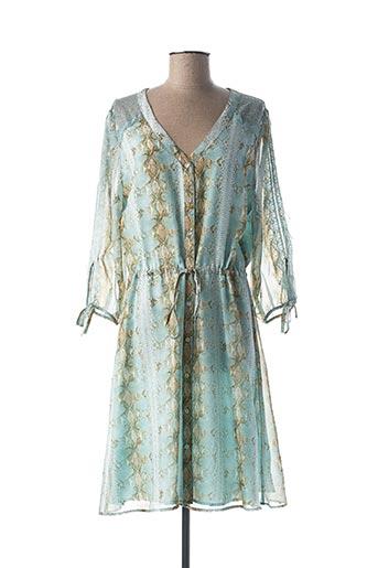 Robe mi-longue bleu ESQUALO pour femme
