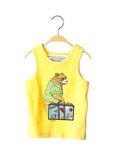 Débardeur jaune MILK ON THE ROCKS pour enfant