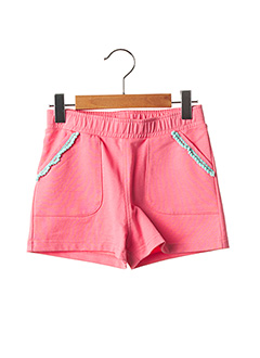 Produit-Shorts / Bermudas-Fille-MILK ON THE ROCKS
