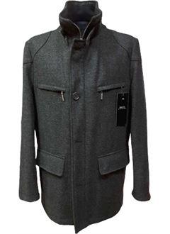 Manteau court gris DIGEL pour homme