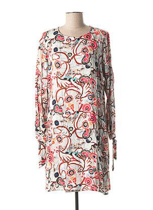 Robe courte rose CHATELET pour femme
