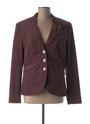 Veste casual violet GERRY WEBER pour femme