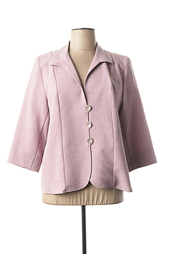 Veste chic / Blazer rose ANNE KELLY pour femme