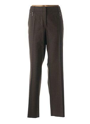 Pantalon chic marron GERRY WEBER pour femme