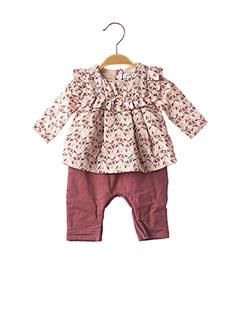 Combi-pantalon rose MARESE pour fille