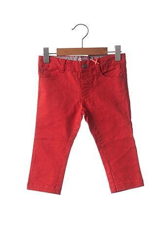 Pantalon casual rouge MARESE pour garçon