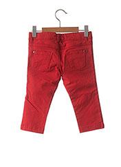 Pantalon casual rouge MARESE pour garçon seconde vue