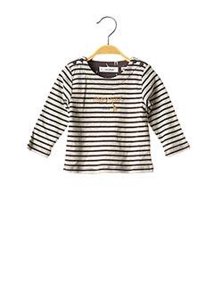 T-shirt manches longues gris MARESE pour enfant