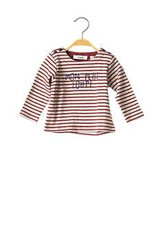T-shirt manches longues rouge MARESE pour enfant