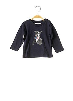 T-shirt manches longues bleu MARESE pour garçon