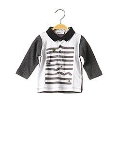 T-shirt manches longues gris MARESE pour garçon