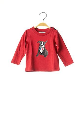 T-shirt manches longues rouge MARESE pour garçon