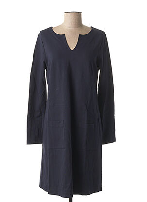 Robe mi-longue bleu LE BOUDOIR D'EDOUARD pour femme