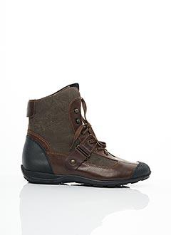 Bottines/Boots marron MADISON pour femme