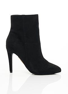 Bottines/Boots noir BIANCO. pour femme