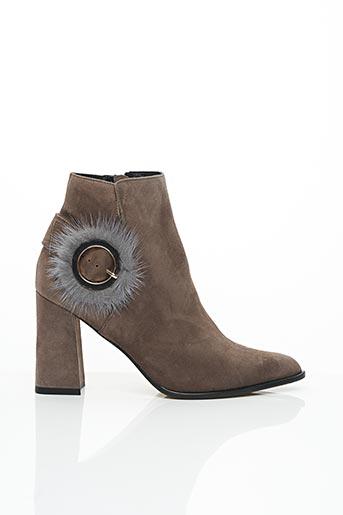 Bottines/Boots marron ELIZABETH STUART pour femme