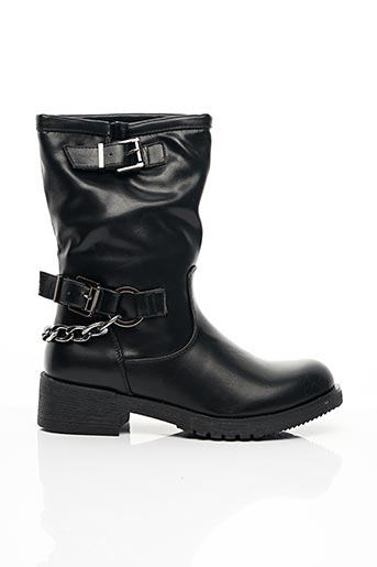 Bottines/Boots noir COOL WAY pour femme