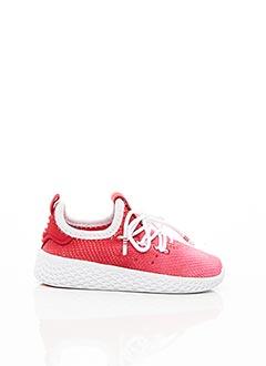 Baskets rouge ADIDAS pour garçon