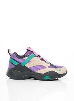 Baskets violet REEBOK pour homme