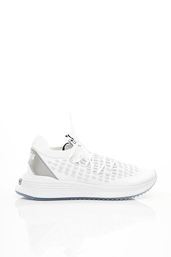 Baskets blanc PUMA pour homme