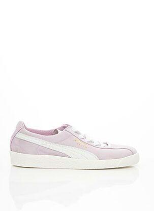 Baskets violet PUMA pour femme
